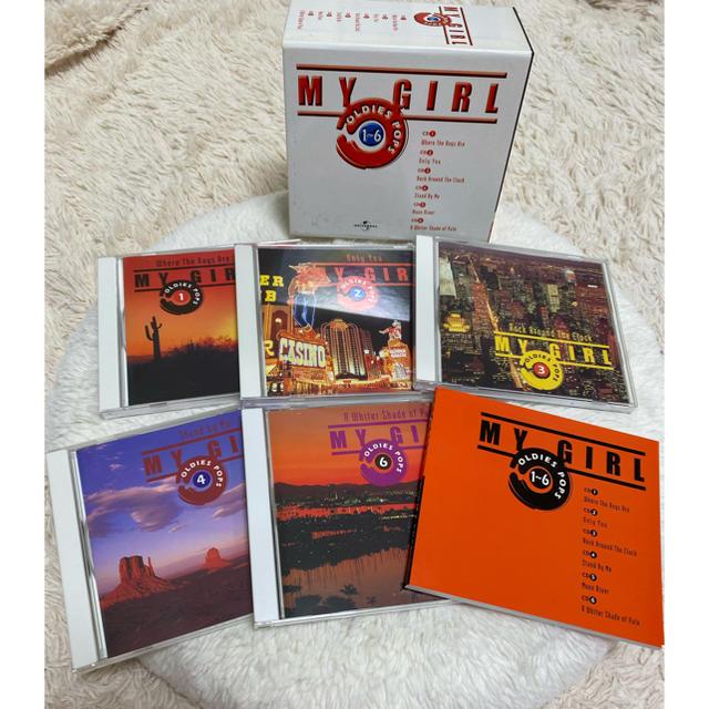 【CD-BOX】My Girl/Oldies Pops〈1.2.3.4.6〉 エンタメ/ホビーのCD(ポップス/ロック(洋楽))の商品写真