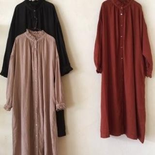 ネストローブ(nest Robe)のNest robe リネン ワンピース (ロングワンピース/マキシワンピース)