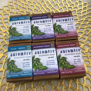 オーロメア(auromere)のオーロメア石鹸 アーユルヴェーダ 6個セット(ボディソープ/石鹸)