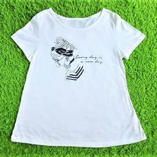 チュチュアンナ(tutuanna)の■チュチュアンナ■Aライン半袖Tシャツ■M~L■(Tシャツ(半袖/袖なし))