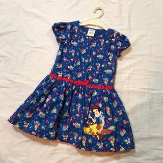 ディズニー(Disney)のディズニー 白雪姫 ワンピース 105-115cm 美品(ワンピース)