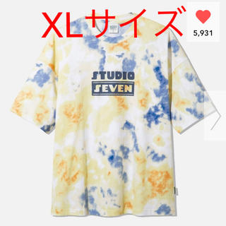 エグザイル トライブ(EXILE TRIBE)のGU STUDIO SEVEN オーバーサイズT ビッグT(Tシャツ/カットソー(半袖/袖なし))