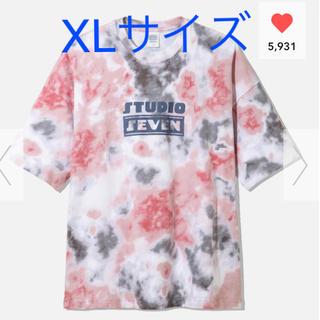エグザイル トライブ(EXILE TRIBE)のGU STUDIO SEVEN オーバーサイズT ビッグT XL ダイダイ(Tシャツ/カットソー(半袖/袖なし))