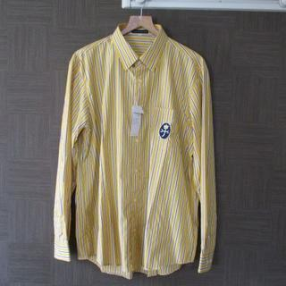 カステルバジャック(CASTELBAJAC)の新品 カステルバジャック 黄色 長袖シャツ 50 大きいサイズ(シャツ)