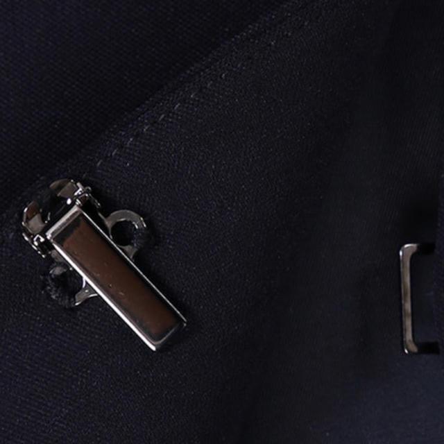 PLST(プラステ)のPLST ストレッチダブルクロスカラーレスジャケット M レディースのジャケット/アウター(ノーカラージャケット)の商品写真