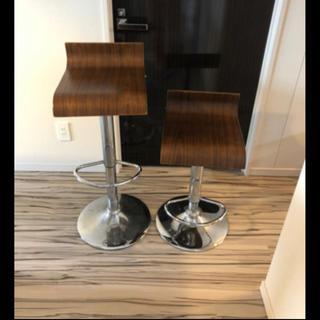 昇降式カウンター椅子(バーテーブル/カウンターテーブル)