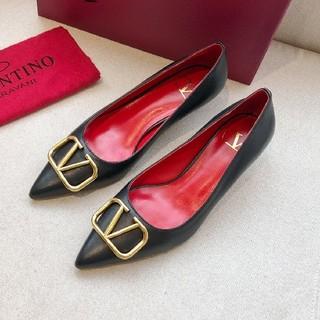 ヴァレンティノ(VALENTINO)のValentino ヴァレンティノ パンプス サンダル レディース 美品(ハイヒール/パンプス)