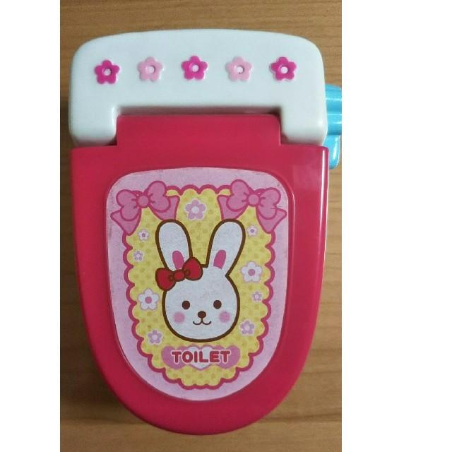 PILOT(パイロット)のメルちゃん  トイレ  小物  人形遊び   キッズ/ベビー/マタニティのおもちゃ(ぬいぐるみ/人形)の商品写真