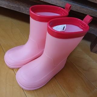 ニシマツヤ(西松屋)の美品♡エルフィンドール 長靴 14cm レインブーツ ベビー キッズ 西松屋(長靴/レインシューズ)