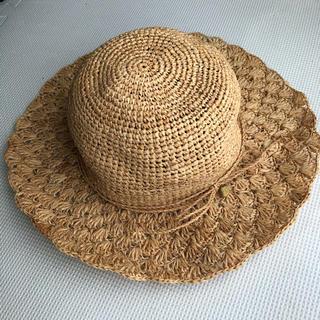 スタディオクリップ(STUDIO CLIP)の麦わら帽子 シェル柄 ペーパーハット(麦わら帽子/ストローハット)