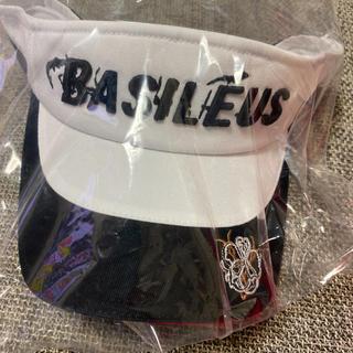 新品未使用 BASILEUS(バシレウス) サンバイザー ゴルフ(サンバイザー)