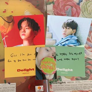 エクソ(EXO)のEXO ベッキョン トレカ メッセージカード(アイドルグッズ)