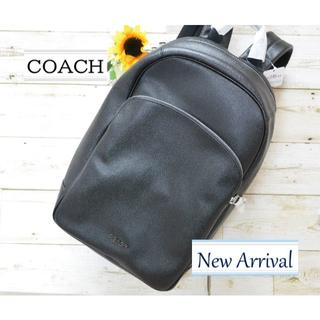 COACH - 【新品】新作 コーチ バックパック リュック ブラック メンズ
