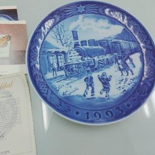 ロイヤルコペンハーゲン(ROYAL COPENHAGEN)のROYAL COPENHAGEN  RC Christmas Plate1993(食器)