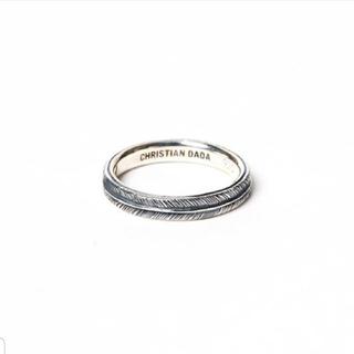 クリスチャンダダ(CHRISTIAN DADA)のCHRISTIAN DADA ring フェザーリング(リング(指輪))