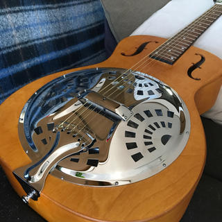 エピフォン(Epiphone)のDobro リゾネーター Hound dog Epiphone製 (アコースティックギター)