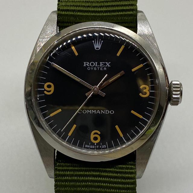 ROLEX(ロレックス)のROLEX REF6429 COMMANDO 手巻きオイスター メンズの時計(腕時計(アナログ))の商品写真