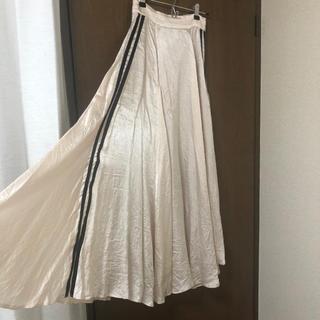 snidel - サイドラインロングスカート