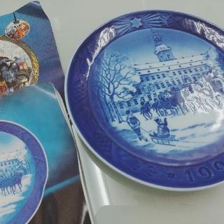ロイヤルコペンハーゲン(ROYAL COPENHAGEN)のROYALCOPENHAGEN  RC Christmas Plate1992(食器)