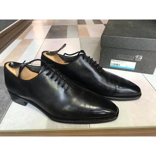 サンヨウヤマチョウ(SANYO YAMACHO)のペルフェット ホールカットP1111 7 ブラック ドレス 革靴 ビジネス(ドレス/ビジネス)