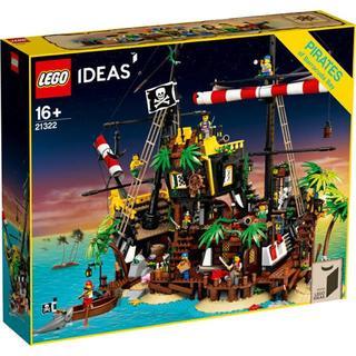 レゴ(Lego)の【即購入可】レゴ LEGO アイデア 赤ひげ船長の海賊島 品番 21322(積み木/ブロック)