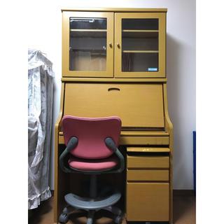 ニトリ(ニトリ)の学習机 キャビネット、椅子セット(学習机)