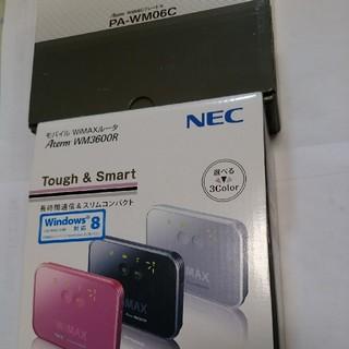 NEC - WiMAXモバイルルーター+クレードルセット