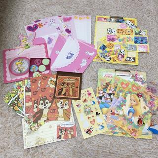 ディズニー(Disney)のDisney レターセット 手紙(カード/レター/ラッピング)