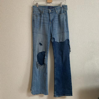 Levi's - LEVI'S SWITCHING DAMAGE JEANS