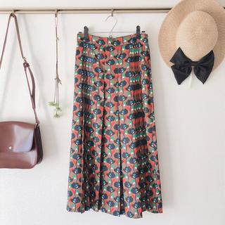 ザラ(ZARA)のZARA ザラ プリーツスカート スカート ロングスカート 個性的(ロングスカート)