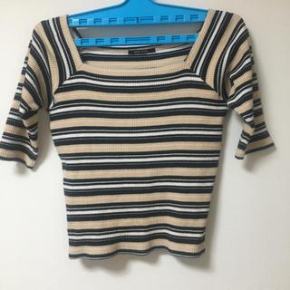 ワンウェイ(one*way)のボーダーTシャツ(Tシャツ(半袖/袖なし))