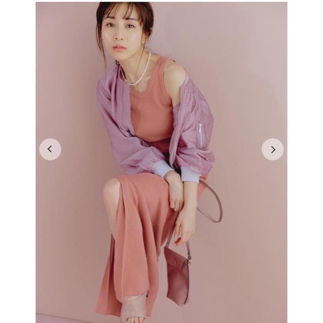 snidel(スナイデル)のsnidel シアーブルゾン レディースのジャケット/アウター(ブルゾン)の商品写真