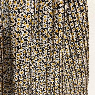 Kastane - 小花柄 消しプリーツスカート