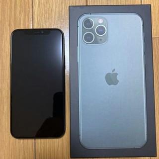 iPhone - iPhone 11 Pro ミッドナイトグリーン 256 GB