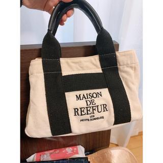 Maison de Reefur - MAISON DE REEFUR キャンバス ロゴ トートバッグ S