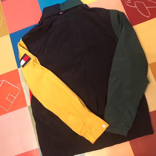 本日限定価格 tommy カラーブロック ジャケット トミー メンズのジャケット/アウター(ナイロンジャケット)の商品写真