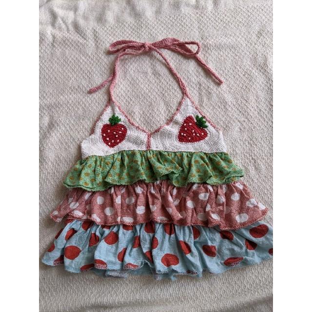 MPS(エムピーエス)のMPS キャミソール 100 キッズ/ベビー/マタニティのキッズ服女の子用(90cm~)(Tシャツ/カットソー)の商品写真