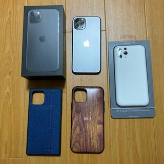 アイフォーン(iPhone)のiPhone 11 Pro 256GB スペースグレー ※訳あり(スマートフォン本体)