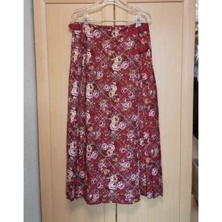 インゲボルグ(INGEBORG)のインゲボルグ    巻きスカート(ロングスカート)