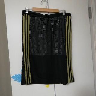 アディダス(adidas)のアディダススカートM(ひざ丈スカート)