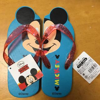 ディズニー(Disney)の【新品.タグ付き☺︎】ミッキー ビーチサンダル 20㎝(サンダル)