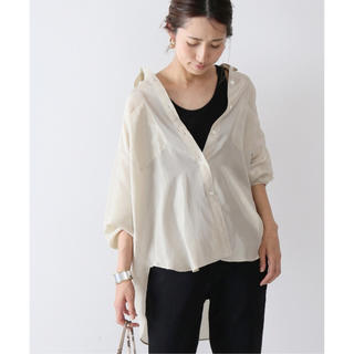 FRAMeWORK - 美品 Mature Framework silk ワークシャツ
