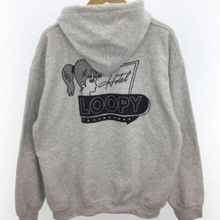 Loopy Hotel × Apple Butter Store コラボパーカー(パーカー)