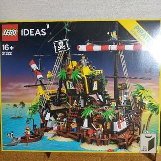 レゴ(Lego)のレゴ 赤ひげ船長の海賊島 LEGO 新品未開封 21322 ブロック おもちゃ(模型/プラモデル)
