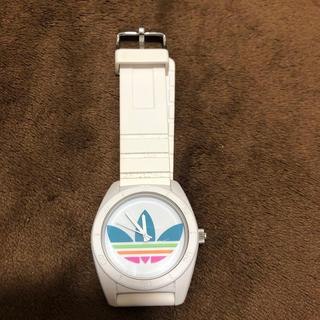 アディダス(adidas)のadidas 腕時計 ホワイト アディダス(腕時計(アナログ))