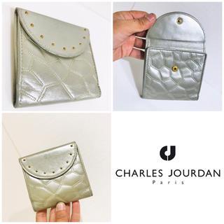 シャルルジョルダン(CHARLES JOURDAN)の本革■大丸購入■シャルルジョルダン CHARLESJOURDAN スタッズ 財布(財布)