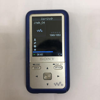 ソニー(SONY)のSONY ウォークマン NW-S616F(ポータブルプレーヤー)