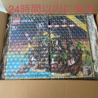 レゴ(Lego)の新品LEGO 21322 赤ひげ船長の海賊島 アイデア最終値下げになります(キャラクターグッズ)