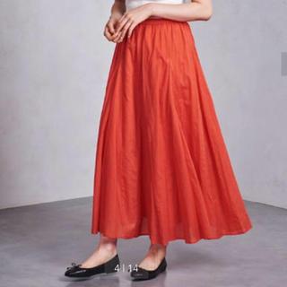 UNITED ARROWS - 【新品タグ付】SFL ロング フレア スカート オレンジ