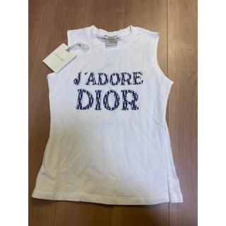 Christian Dior - 最終値下 新品 クリスチャンディオール ノースリーブ 40